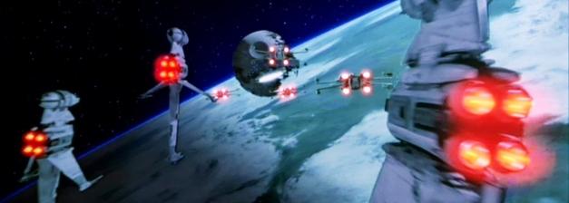 El ala-B en la batalla de Endor